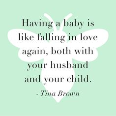 Thanks Tina Brown for the true and touching quote!