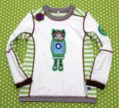 Langarmshirts - T-Shirt Gr. 110/116 HILDE Lothar Bär - ein Designerstück von…