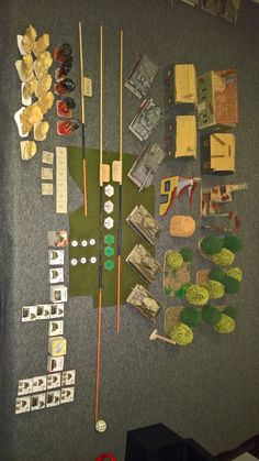 Complete game with all tokens, markers, village, trees, damage token, etc... Tank War, Clash Of Clans, Markers, Scale, Trees, Paper, Weighing Scale, Sharpies, Home Decor Trees