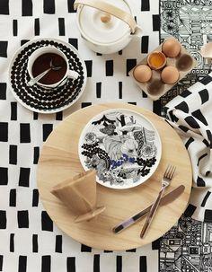 Marimekko Veljekset #Finland #Marimekko #ceramics #design