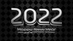 Free Black New Year Background 2022