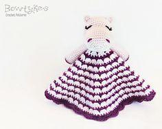 Hippo Lovey Crochet Pattern