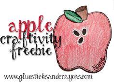 Glue Sticks & Crayons: A Week of Apples