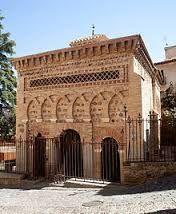 Fachada de la mezquita de Bab al-Mardum o Cristo de la luz en Toledo