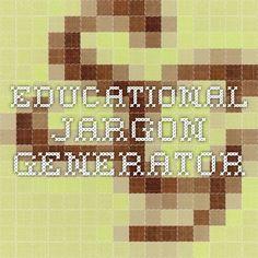 Educational Jargon Generator
