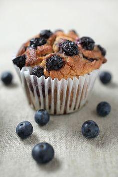 Blueberry Muffins - #paleo
