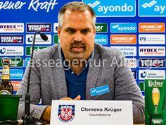 Clemens Krüger, Geschäftsführer beim FSV Frankfurt. Fsv Frankfurt, Investing