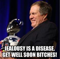 New England Patriots! Patriots Memes, Nfl Memes, Patriots Fans, Football Memes, Best Football Team, Nfl Football, Football Season, New England Patroits, Jealousy Is A Disease