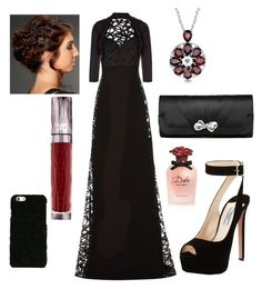 """""""Prom??"""" by mikayla-burgess ❤ liked on Polyvore featuring Elie Saab, Prada, Monsoon, Urban Decay and Dolce&Gabbana"""