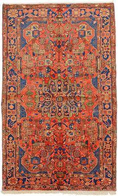 Red 5' 0 x 8' 1 Nahavand Rug | Persian Rugs | eSaleRugs, $1277