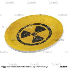 Happy Halloween Hazard Radiation Warning