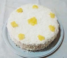 Torta de Abacaxi c/ coco