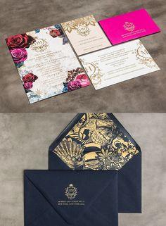 Románticas y elegantes estas invitaciones para boda al aire libre impresionarán a tus invitados