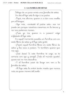 *MIS COSAS DE MAESTRA*: Fichas de comprensión lectora - Banco de lecturas