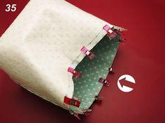 Fler BLOG | U Ajky / Šití pro začátečníky - košíček Vide Poche, Couture, Zip Around Wallet, Blog, Bento, Ideas, Handmade Crafts, Creative Crafts, Hampers