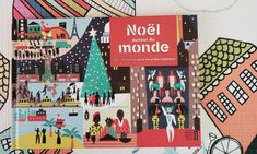 Livre : Noël autour du monde Mont Saint Michel, Around The Worlds, Christmas Parties