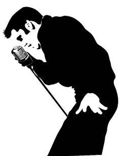New Custom Screen Printed Tshirt Elvis Presley Singing Elvis Presley, Vinyl Poster, Stencil Art, Stencils, Custom Screen Printing, Mural Wall Art, Silhouette Art, Arte Pop, Pyrography