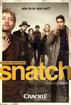 "Crackle's ""Snatch"" the series. Rupert Grint, Luke Pasqualino"