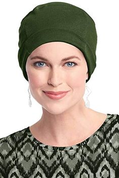 120480c58af 100 Cotton Cozy Cap for Women - Cancer Hat