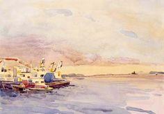 Robert Leedy   WATERCOLOR