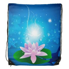 Enjoy a new drawstring bag from Zazzle. Use it to hold your gym gear or carry snacks & water for a hike. Gym Gear, Water Lilies, Drawstring Backpack, Backpacks, Cartoon, Tote Bag, Bags, Handbags, Drawstring Backpack Tutorial