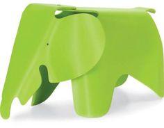Taburete elefante de Charles & Ray Eames La casa de los Roper: Regalos de diseño y objetos para la casa.