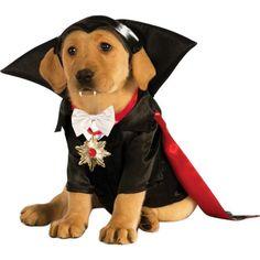 Dracula Vampire Pet Costume