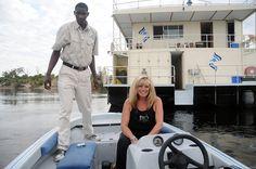 Cruising on the Ichobezi Safariboat | African Safaris