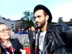 Marco Mengoni - Red Carpet Eurovision Malmo 2013