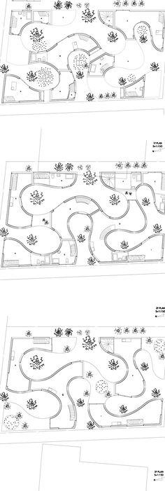 okurayama apartments buscar con google architecture planarchitecture drawingslandscape architecturelandscape - Simple Architecture Blueprints