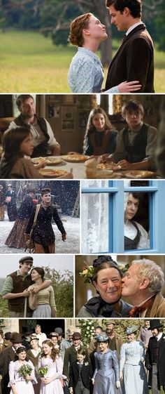 Lark Rise to Candleford - love watching the season with my family!!