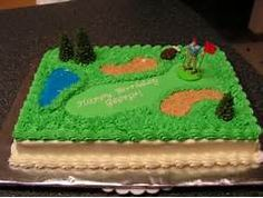 golf cake | sweets and treats | Pinterest | Golf Cakes ...