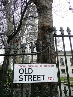 Old Street (London Borough Of Islington) Old Street London, Old London, London Landmarks, Famous Castles, Street Names, London Life, London Calling, Street Signs, British Isles