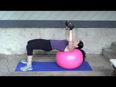 HomeWorkout - Ball and Dumbbell options - YouTube