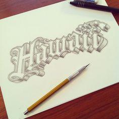 Tipografia de Matthew Tapia #Typography