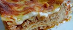 Recept Lasagne alla bolognese Thing 1, Bolognese, Quiche, Main Dishes, Food And Drink, Pizza, Vegan, Meals, Breakfast