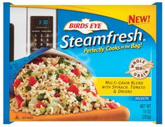 Birds Eye® Steamfresh® Multi-Grain Rice Blend with Spinach, Tomato and Onion is simple to make and super tasty! With an awesome NuVal® score of 97, this rice dish has an ingredient list of cooked whole grain brown rice, cooked whole grain orzo, tomatoes, cooked whole grain bulgur, spinach and onions - no added sodium or flavors. #eatwellfestfoods