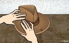 Moldes para hacer sombreros de vaqueros - Imagui  3c6ee7f1ac8