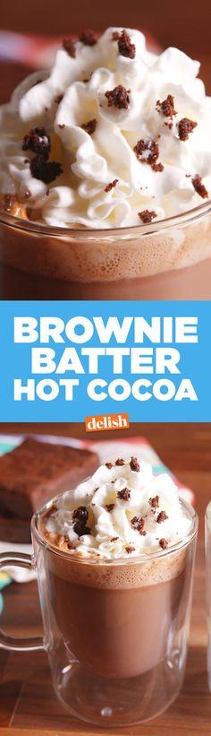 Brownie Batter Hot Chocolate