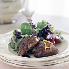 Vanilla Balsamic Chicken Recipe - one of my all time favorite Cooking Light recipes.  So classic and crowd pleasing.