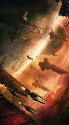 21 ideas for science fiction cyberpunk star wars Nave Star Wars, Star Wars Rpg, Star Wars Ships, Arte Sci Fi, Sci Fi Art, Interstellar, Sci Fi Fantasy, Fantasy World, Dark Fantasy