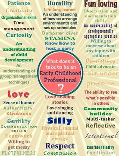 What does it take to be an Early Childhood Professional?