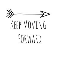 keep moving forward tattoo arrow - Google Search