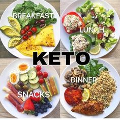 ❤️😋Looking for keto-friendly meal prep ideas? Check out beautiful arrangement of Keto breakfast, snack, lunch, and dinner. 💝TAG a friend that would find this guide helpful. Low Carb Meal, Healthy Meal Prep, Healthy Snacks, Healthy Eating, Healthy Food Plate, Keto Meal, Breakfast Snacks, Breakfast Recipes, Breakfast Ideas