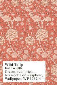 william morris wild tulip