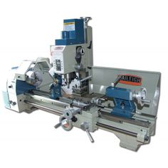 Order your Baileigh Industrial Mill Drill Lathe today! The MLD 1030 is a powerful, space-saving machine, great for small shops that need quality equipment. Metal Working Machines, Metal Working Tools, Cnc Lathe, Lathe Tools, Cnc Router, Woodworking Joints, Woodworking Tools, Homemade Lathe, Cnc Software
