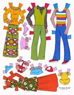 Paper Dolls~The Happy Family - Bonnie Jones - Álbumes web de Picasa