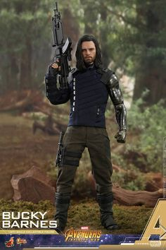 Hot Toys Marvel Avengers Infinity War Bucky Barnes Winter Soldier Scale Action Figure Name: Bucky Barnes Category: Avengers Infinity War Series: Movie Marvel Avengers Comics, Marvel Avengers Assemble, Avengers Characters, Marvel Dc, Toy Story Figures, Action Figures, Bucky Barnes, Winter Soldier Cosplay, Captain America Winter