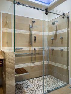 Master Bath - Asian Green Spa Shower Design, Pictures, Remodel, Decor and Ideas - page 6