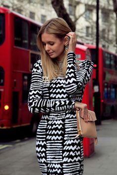 ear cuff, dress, geometric pattern